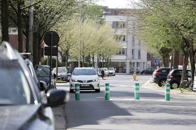 Oplossing voor Gentse 'paaltjeswijk': geen paaltjes, maar eenrichtingsverkeer