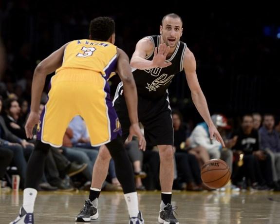 NBA. San Antonio heeft geen medelijden met Lakers