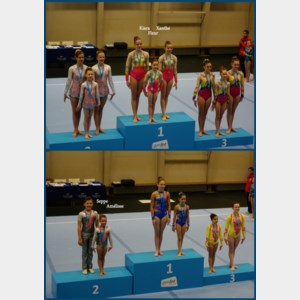Goud en zilver voor Artgym op provinciaal kampioenschap