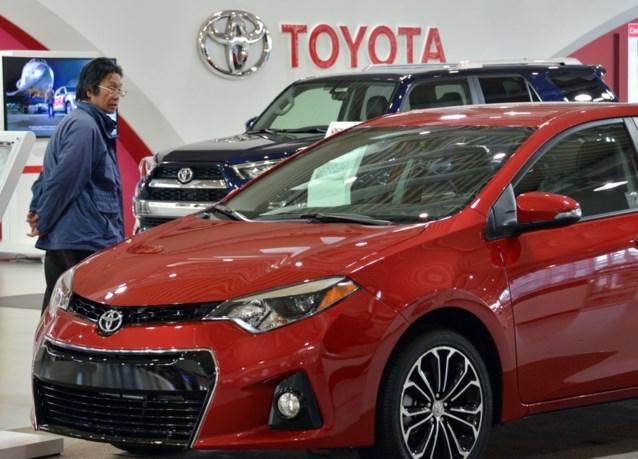 Toyota blijft grootste autofabrikant