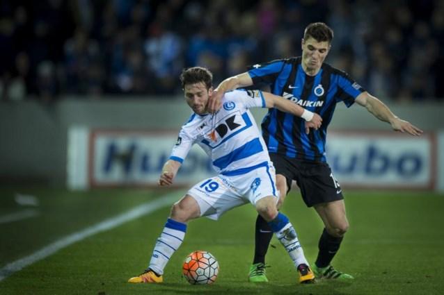 Poulain en Gershon in de selectie voor Club Brugge  - AA Gent