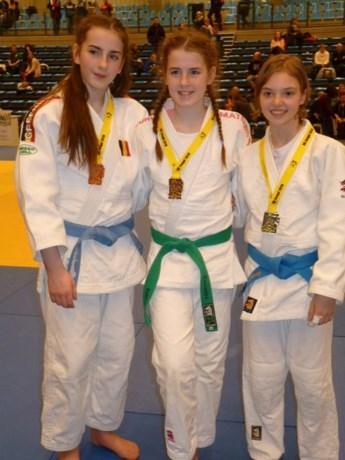 Drie judoka's naar Belgische Kampioenschap