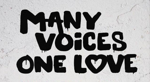 'Many Voices One Love': Artiesten tegen mensonwaardige vluchtelingenkampen