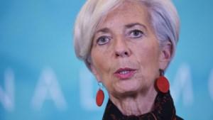 Christine Lagarde mag aanblijven als baas van het IMF
