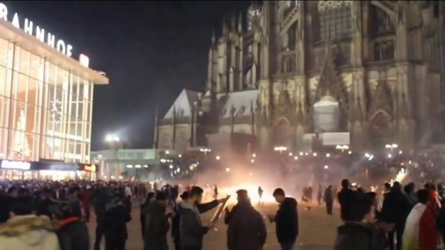 Amper asielzoekers betrokken bij massa-aanranding in Keulen