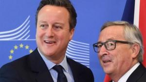 Juncker heeft geen 'plan B' voor Groot-Brittannië