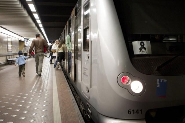 Spontane actie bij Brussels openbaar vervoer