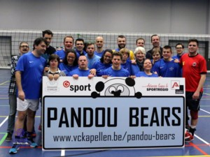Fanionteam traint Pandou Bears