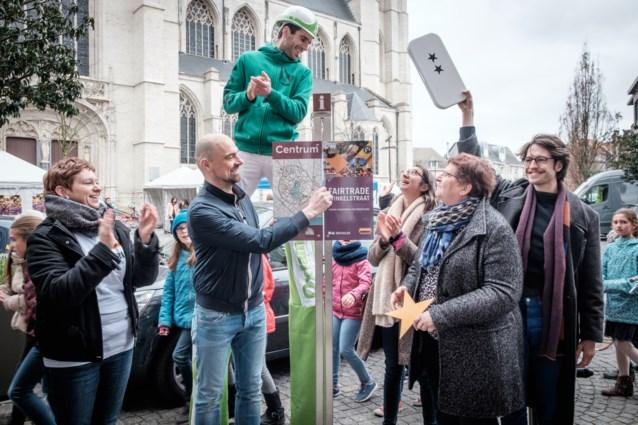 Eerste fairtrade winkelstraat van het land ligt in Mechelen