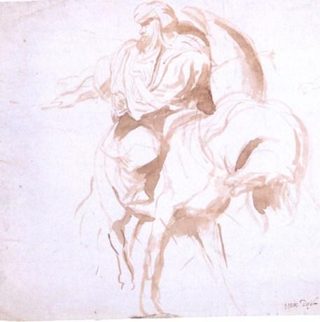 Zeldzame penseeltekening van Rubens gevonden