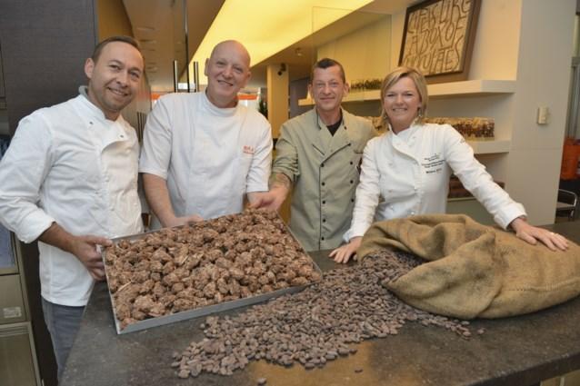Chocolatiers maken pralines volledig artisanaal... in het oerwoud