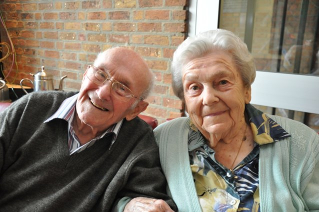 Frans en Leonie zijn 75 jaar geleden letterlijk op elkaar gevallen