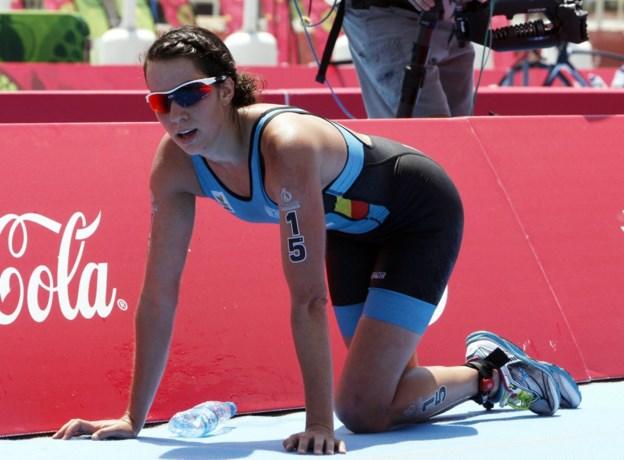 Claire Michel en Marten Van Riel halen podium in WB triatlon Chengdu