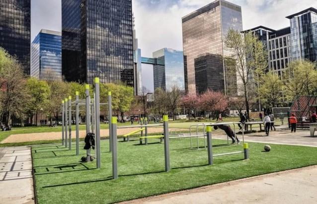 Street work-outers krijgen eigen park in de hoofdstad
