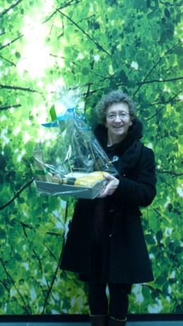 Marleen Daems wint streekproductenkorf