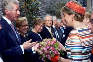 FOTO. De nieuwe bloemen van de koningin