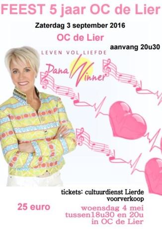 Voorverkoop 5 jaar OC De Lier met Dana Winner
