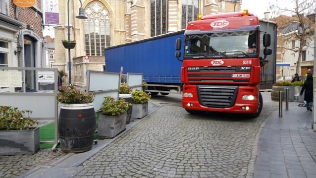 Afbeeldingsresultaat voor fotos van zware en grote vrachtwagens