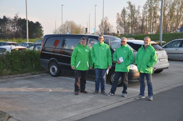 ACV informeert over nieuwe carpoolparking aan E17