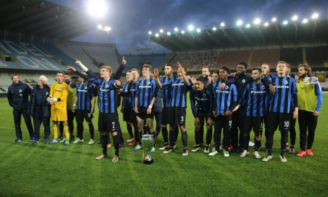 Beloften Club Brugge geven het goede voorbeeld