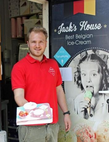 'Oudste ijs van Gent'  nu ook op Graslei