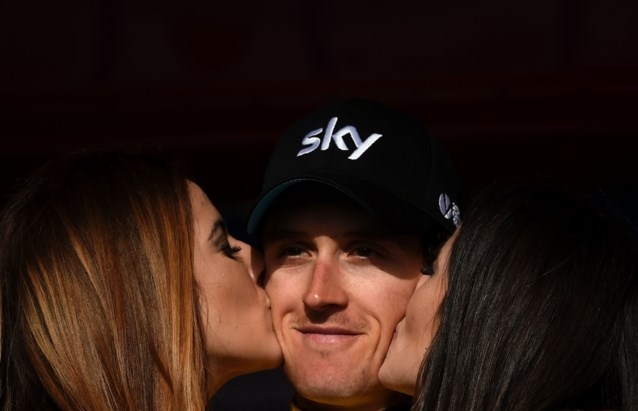 Geraint Thomas blijft Team Sky trouw
