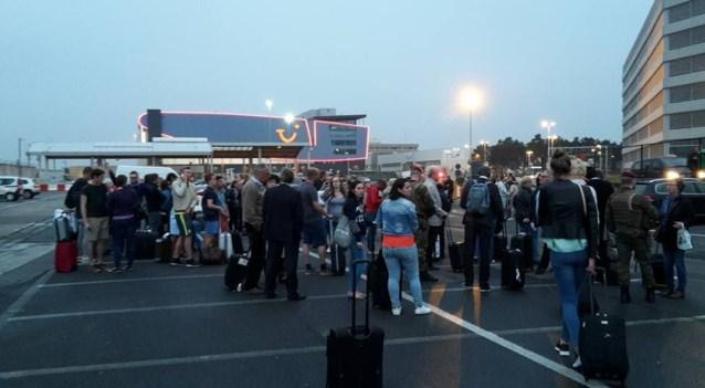 Parking luchthaven Zaventem ontruimd na vondst verdacht pakket