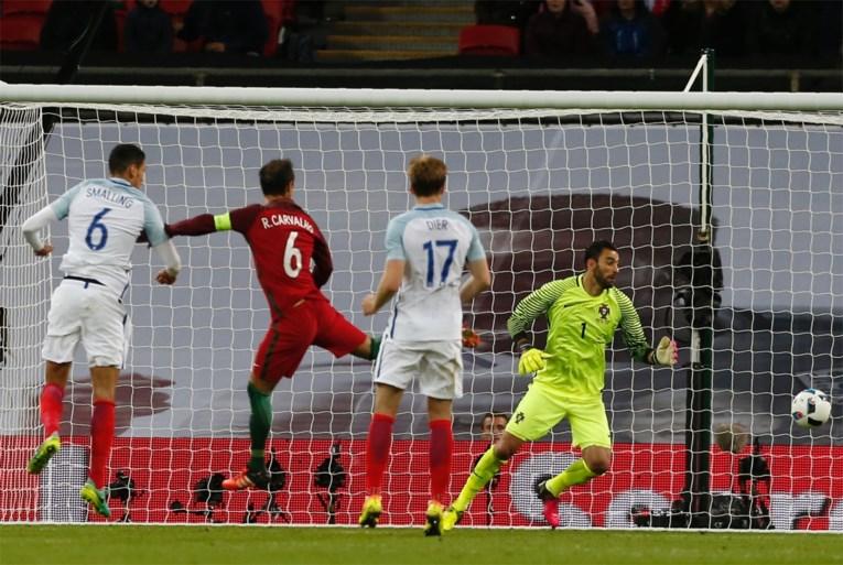 Ook Engeland heeft nog veel werk: Rooney en co sukkelen tegen tien Portugezen