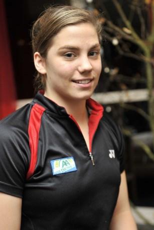 Flore Vandenhoucke plaatst zich voor kwartfinale van Letland Open badminton
