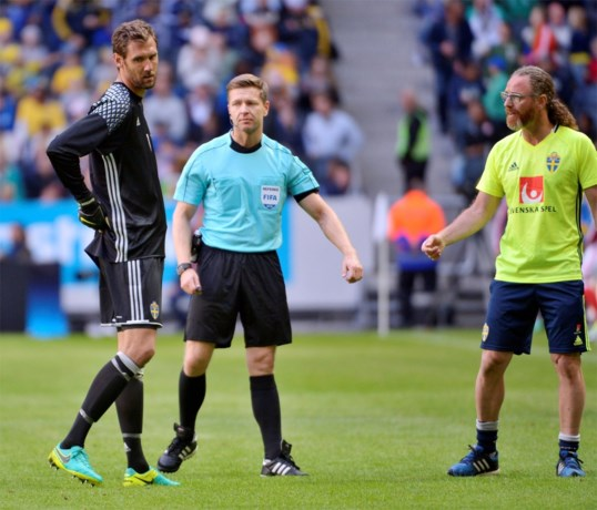 EK-tegenstander Zweden ziet doelman uitvallen
