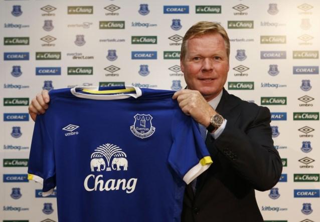 """Ronald Koeman wil Lukaku bij Everton houden: """"Hij is een sleutelspeler"""""""