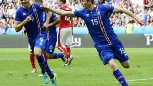 IJsland trapt zich in allerlaatste minuut naar tweede plaats in groep F