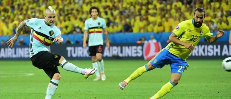 Nainggolan pegelt bibberende Rode Duivels naar achtste finale tegen Hongarije