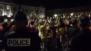 Belgisch feestje in Toulouse tot in de vroege uurtjes: