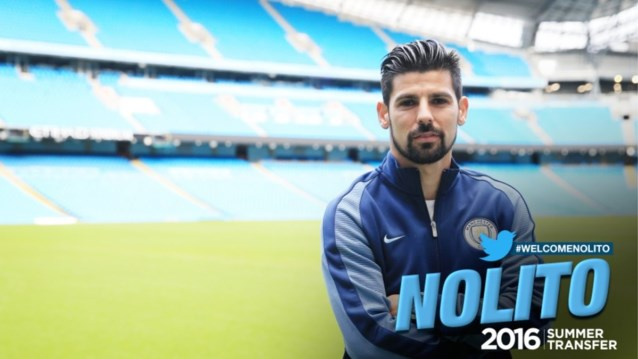 Guardiola haalt Nolito naar Manchester City
