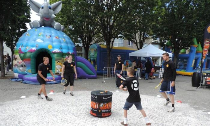 Initiatie wackitball op sportmarkt