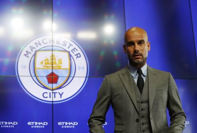 """Guardiola in persdoop als City-coach: """"Kompany moet focussen op zijn lichaam"""""""