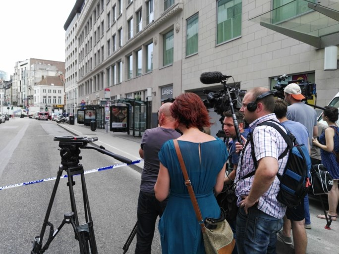 Student die grote politie-operatie uitlokte in Brussel, is vrijgelaten na verhoor