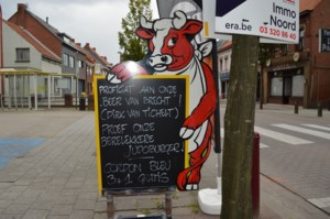 Slager uit Sint-Lenaarts vereeuwigt bronzen Dirk in speciale hamburger