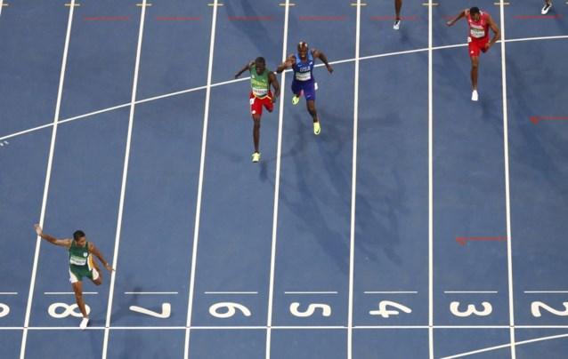 Van Niekerk snelt in nieuw wereldrecord naar olympisch goud 400 meter
