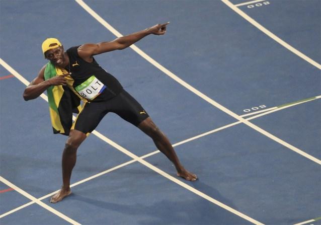 Usain Bolt pakt historisch goud op de 100 meter