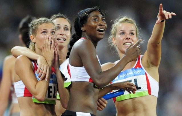 Officieel: Belgische 4x100m-vrouwen krijgen dan toch gouden medaille uit 2008