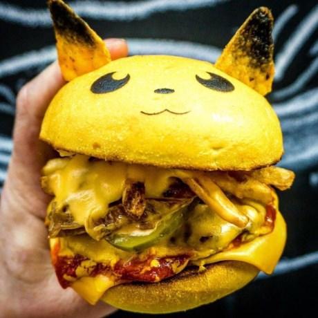 Gekker wordt het niet: Pokémon zijn nu ook hamburgers