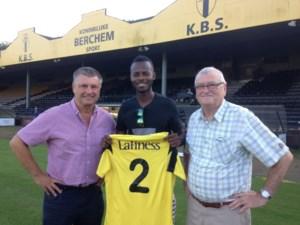 Ransford Addo is de nieuwe centrale verdediger van Berchem Sport