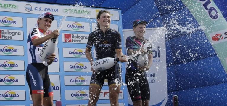 Elisa Longo Borghini wint Giro dell'Emilia voor vrouwen