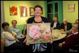 Linda Tollenaere toont werk in Sierteeltmuseum