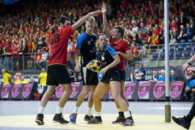 Drie op drie levert België plaats in halve finales op EK korfbal op