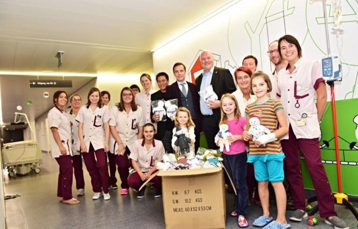 Mooie herinnering aan ziekenhuis dankzij popjes