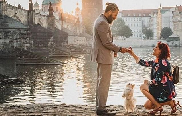 Deze vrouw had twee jaar nodig om het perfecte huwelijksaanzoek te plannen