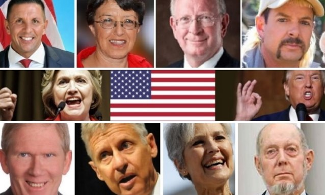 De kans dat ze winnen is nul procent, en toch zijn ook deze kandidaten belangrijk in de presidentsrace